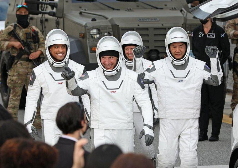 FOTO: Lanzaron con éxito una nueva misión a la Estación Espacial Internacional.