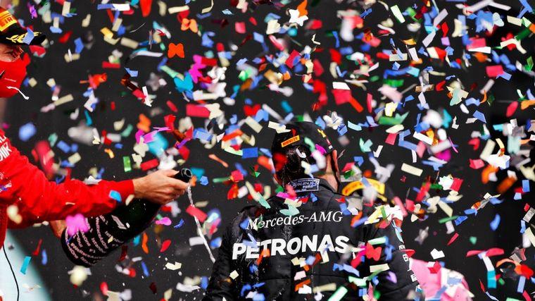 FOTO: Lewis Hamilton y Sebastian Vettel los grandes campeones de la F1 en actividad