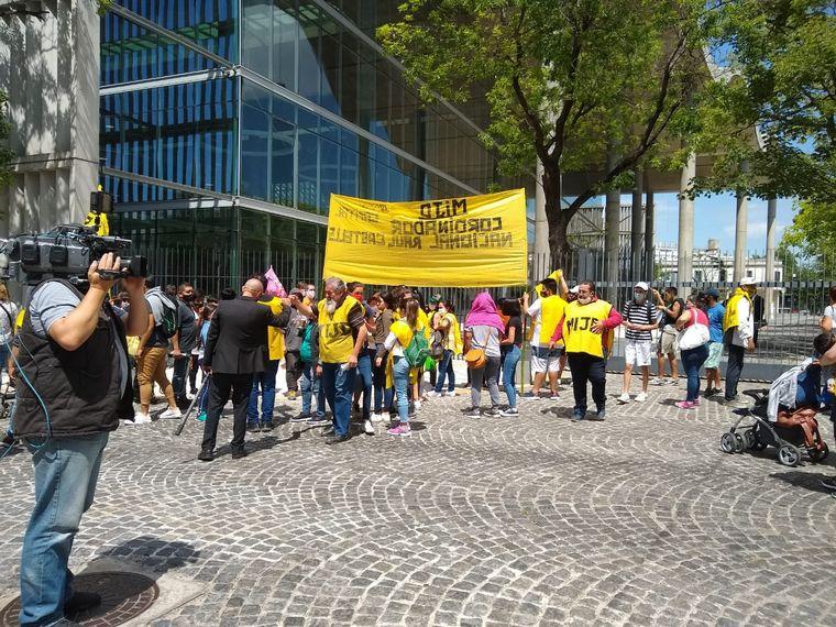 FOTO: Marcha en apoyo al gobierno nacional.
