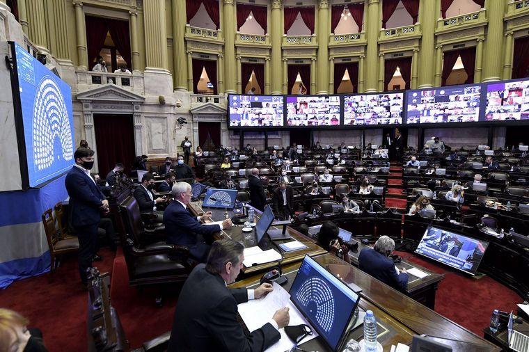 FOTO: Diputados convirtió en ley el Presupuesto 2021 tras su revisión.