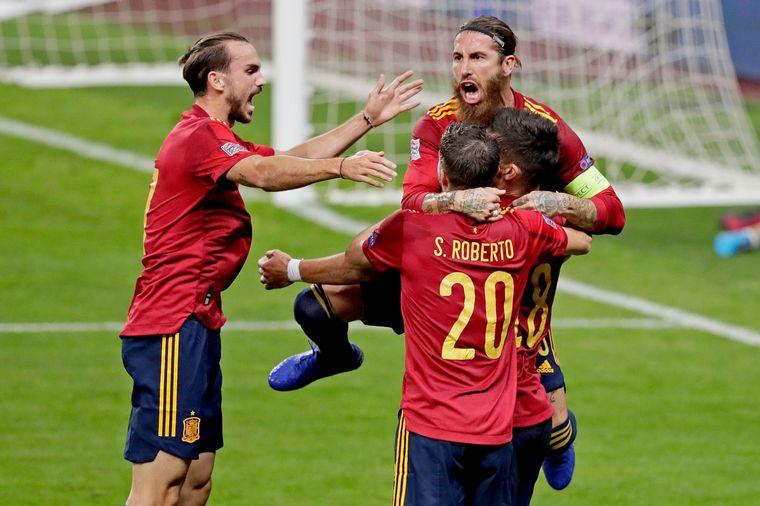 FOTO: España no tuvo piedad: goleó 6-0 a la Selección de Alemania.