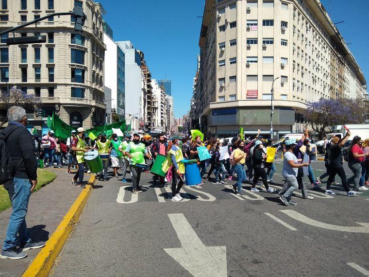 AUDIO: Manifestación del Polo Obrero y organizaciones sociales en Buenos Aires y Córdoba