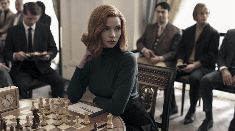 FOTO: Gambito de dama está disponible en Netflix.