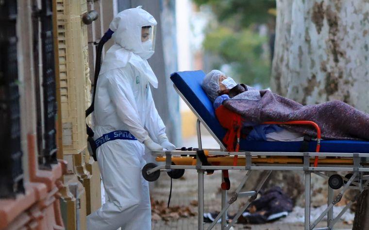 Argentina reportó hoy 10.621 nuevos casos y 379 muertes por coronavirus