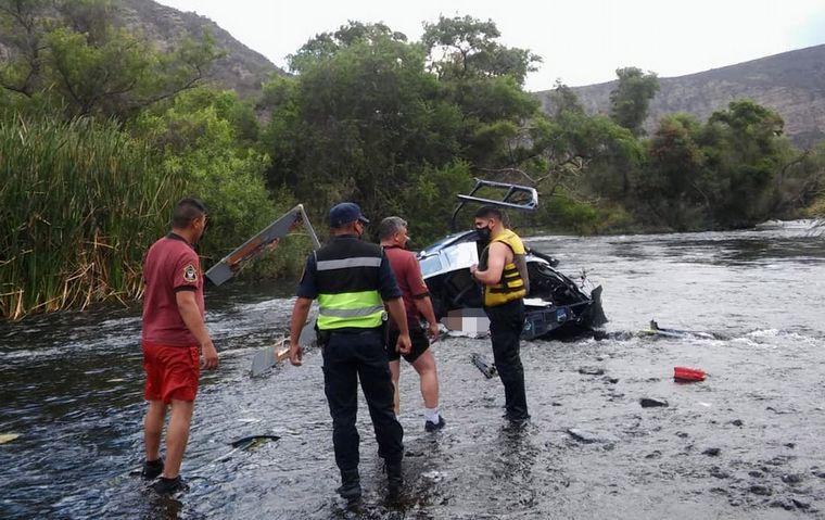 FOTO: Así quedó el helicóptero de Jorge Brito tras el accidente.