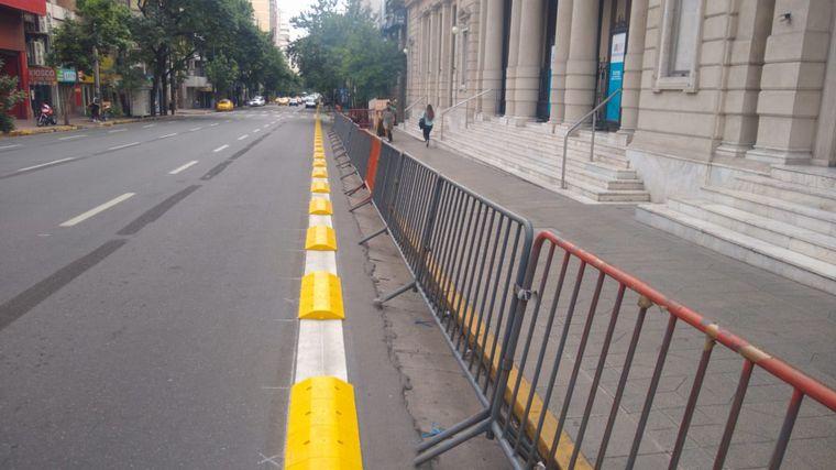 AUDIO: Quejas por la obstrucción de la ciclovía en la zona de Patio Olmos