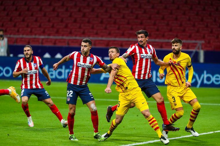 FOTO: Atlético de Madrid superó a Barcelona.