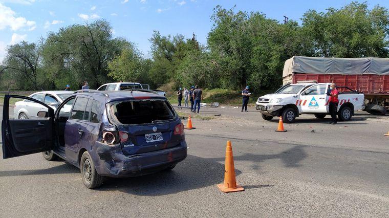 FOTO: Sucedió en la intersección entre Av. Sabattini y Bv. Cangallo de barrio Dean Funes.