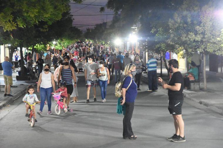 FOTO: Villa Rumipal también vive un fin de semana a pleno.