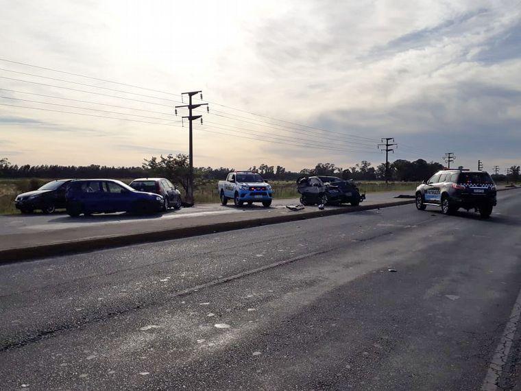 FOTO: Accidente San Vicente