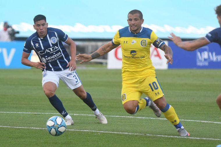 FOTO: Godoy Cruz recibe a Rosario Central en Mendoza.