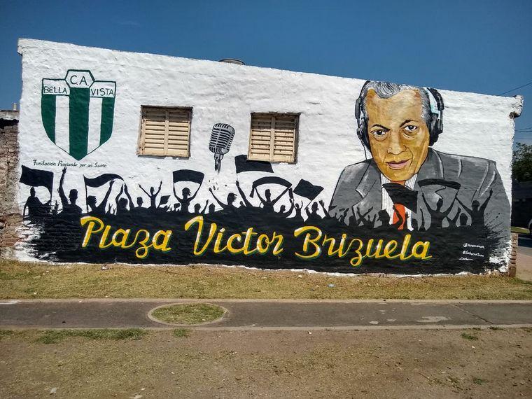 AUDIO: Así se vivió el homenaje a Víctor Brizuela con un mural en Bella Vista