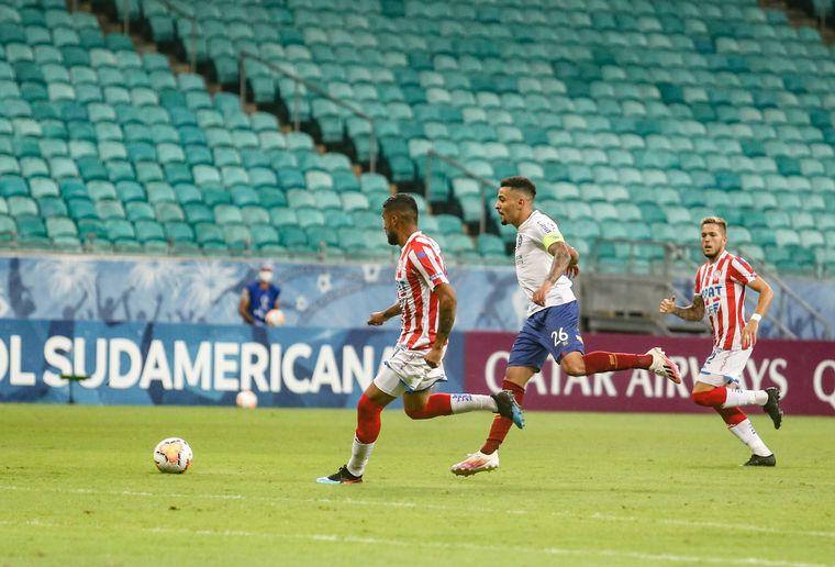 FOTO: Bahia le ganó a unión en condición de local.