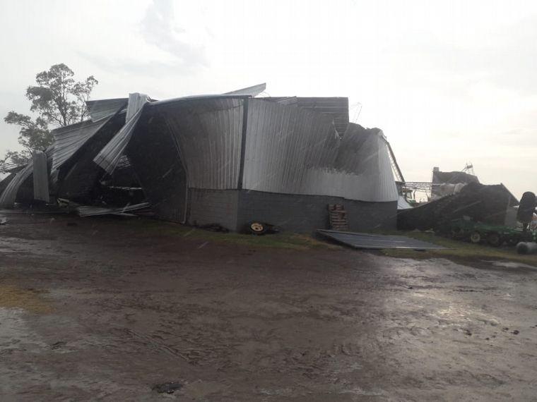 FOTO: Daños del temporal en Colonia San Bartolomé.