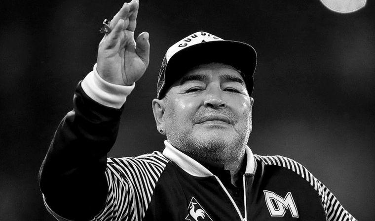 FOTO: Murió Diego Armando Maradona