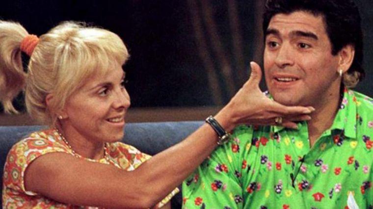 FOTO: Claudia fue la pareja más estable de Maradona.