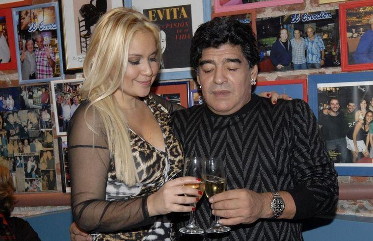 FOTO: Claudia y Diego se divorciaron en 2003.
