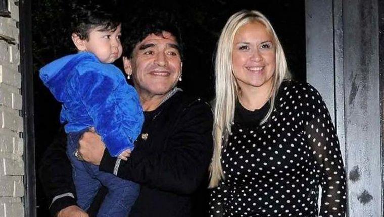 FOTO: Verónica y Diego estuvieron juntos hasta 2013.