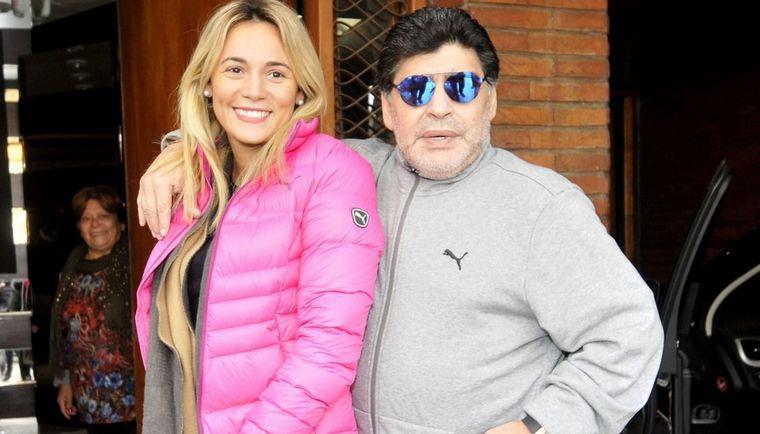 FOTO: Rocío Oliva fue la última pareja de Maradona.