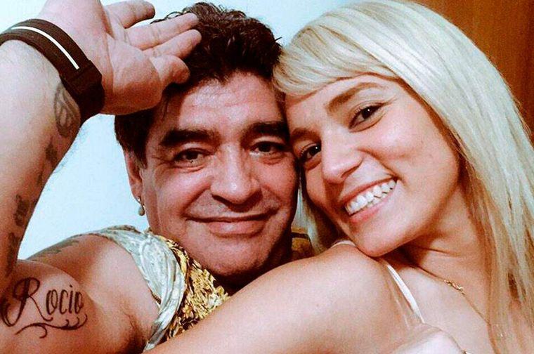FOTO: Rocío acompañó a Diego su trabajo en los Emiratos Árabes Unidos.
