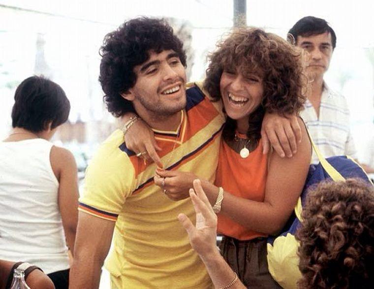 FOTO: Los amores de Diego Maradona.