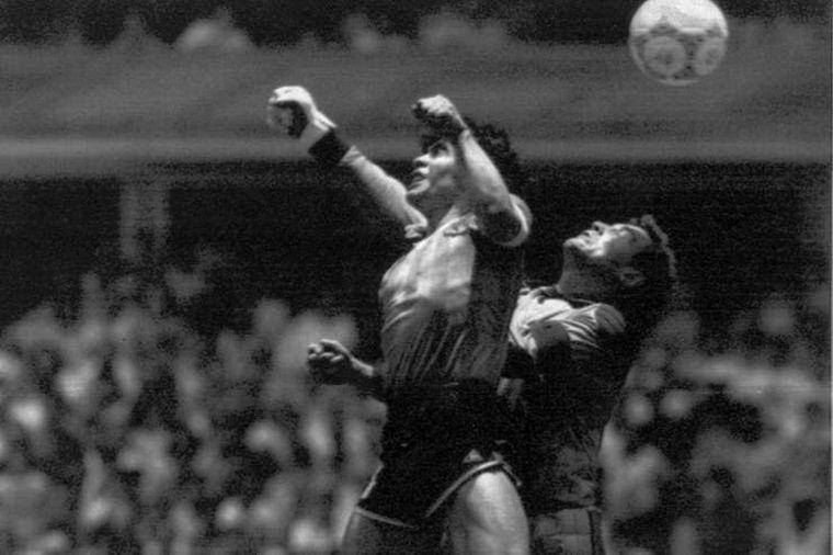 FOTO: Diego Armando Maradona. Pelusa