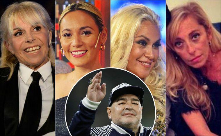 Los grandes amores en la vida de Diego Maradona - Fútbol - Cadena 3  Argentina