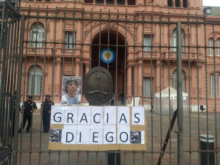 Velan a Diego Maradona en la Casa Rosada - Fútbol - Cadena 3 Argentina