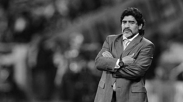 FOTO: Maradona tenía 60 años recién cumplidos.