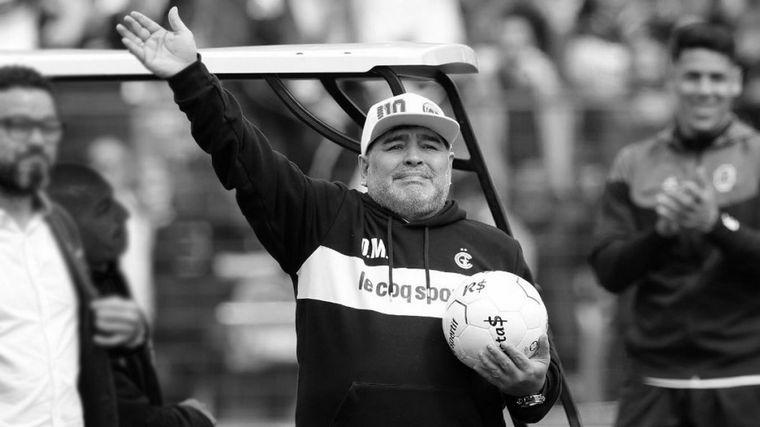 FOTO: Maradona falleció este miércoles al mediodía.