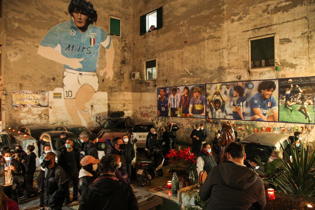 AUDIO: Nápoles despide a Maradona.