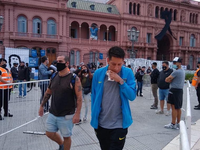 FOTO: Despedida a Maradona en la Rosada