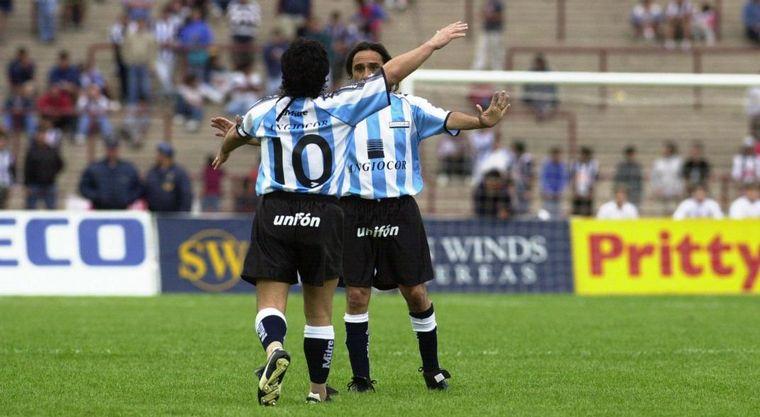 FOTO: Diego y Valencia