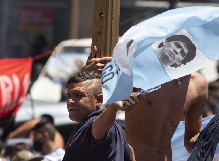 FOTO: El adiós a Maradona en una impactante galería de fotos