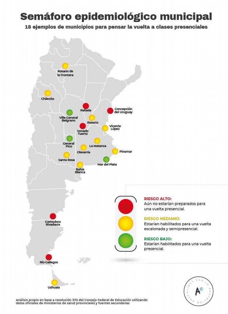 FOTO: Resultados de los municipios.