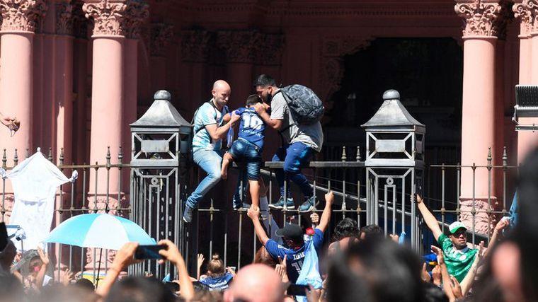 FOTO: Rodríguez Larreta defendió el operativo de la Policía de CABA.