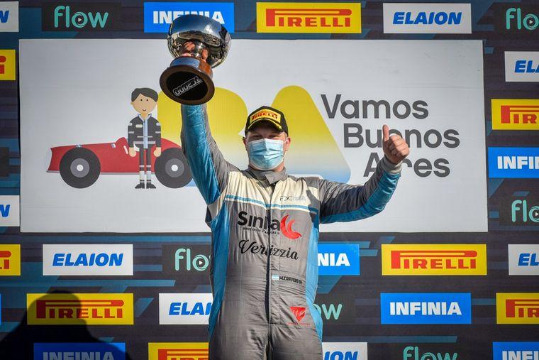 FOTO: Matías Cravero y su Citroën C4, brillantes ganadores del Sprint de TC2000