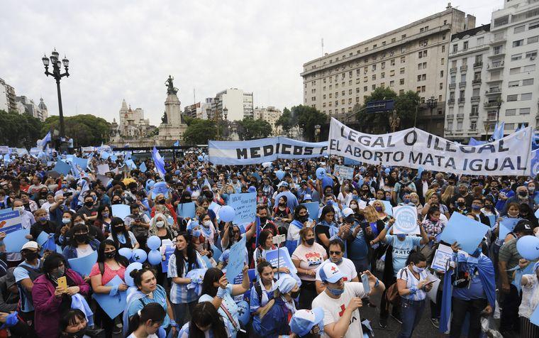 FOTO: Marcha contra el aborto en Jujuy.