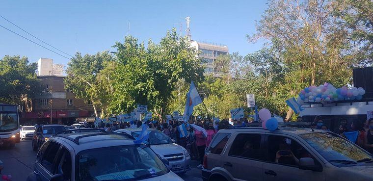 FOTO: Marcha contra el aborto en Tucumán.
