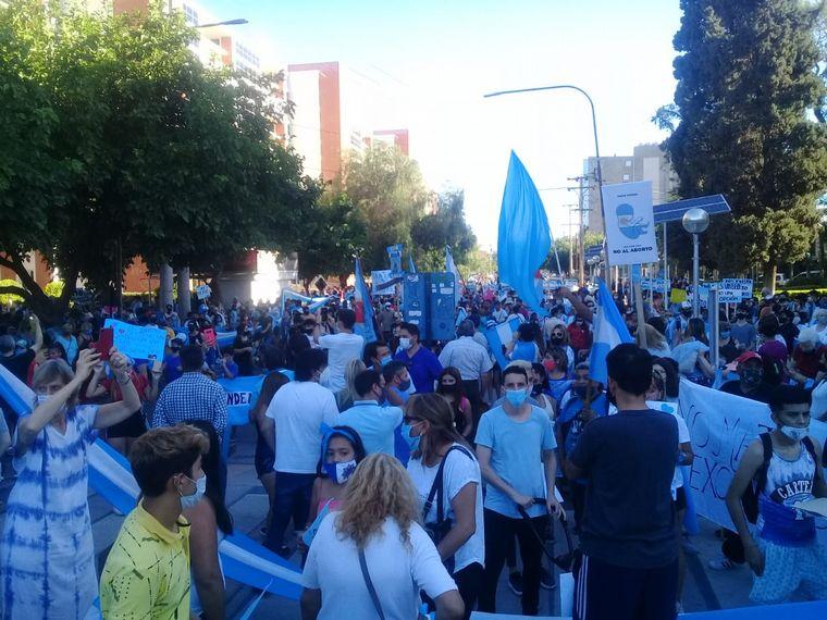 FOTO: Marcha contra el aborto en San Juan.