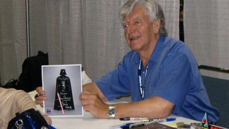 FOTO: Murió Dave Prowse, el actor de Darth Vader en Star Wars