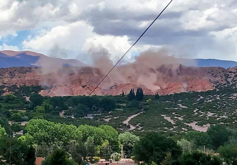 AUDIO: Temblor en Salta produjo derrumbes en Humahuaca