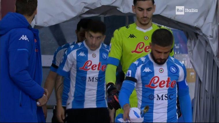 FOTO: El Napoli dedicó un emotivo homenaje a Maradona y ganó 4 a 0 a la Roma.