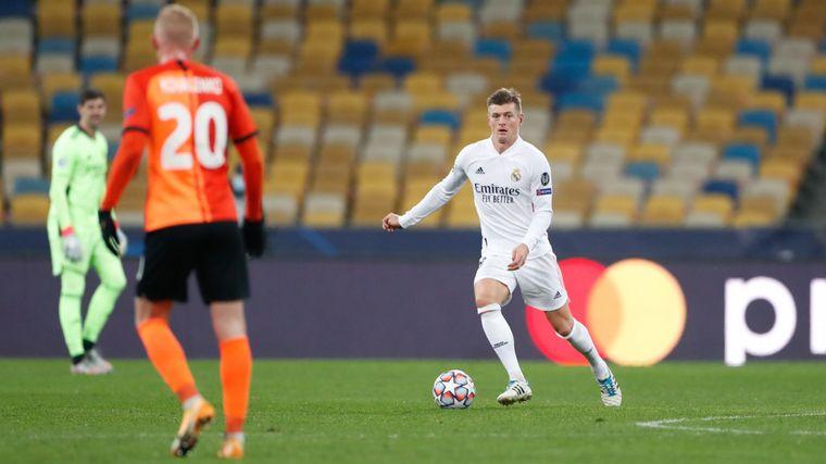 FOTO: El Real Madrid perdió por 2-0 de visitante frente al Shakhtar Donetsk.