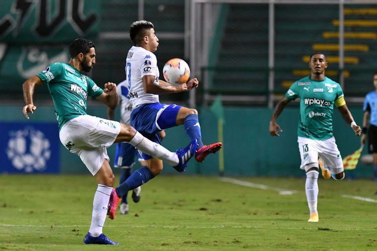 FOTO: Aplastante triunfo de Vélez sobre Deportivo Cali con 5 a 1