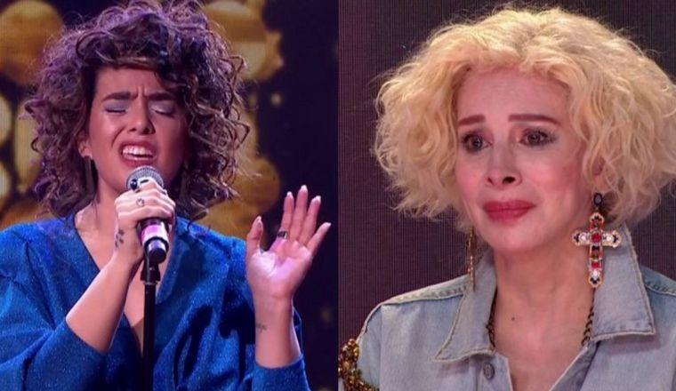 Ángela Leiva y Brian Lanzelotta hicieron emocionar a Nacha - Noticias - Cadena 3 Argentina