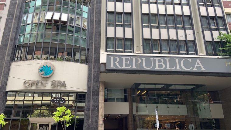 FOTO: El Hotel Spa República ya abrió sus puertas.