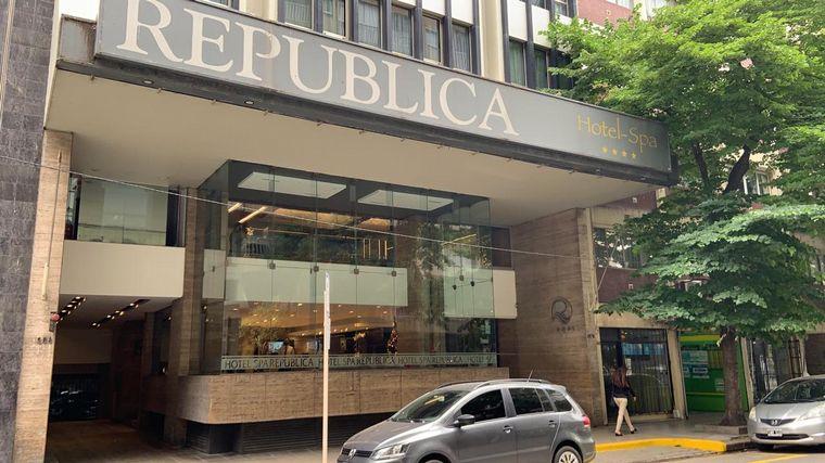 FOTO: Los protocolos en el Hotel Spa República de Mar del Plata.