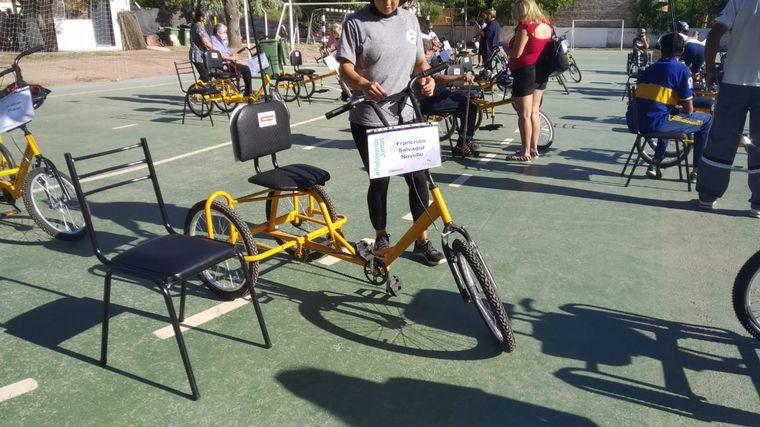 FOTO: La Fundación Jean Maggi entregó 50 bicicletas
