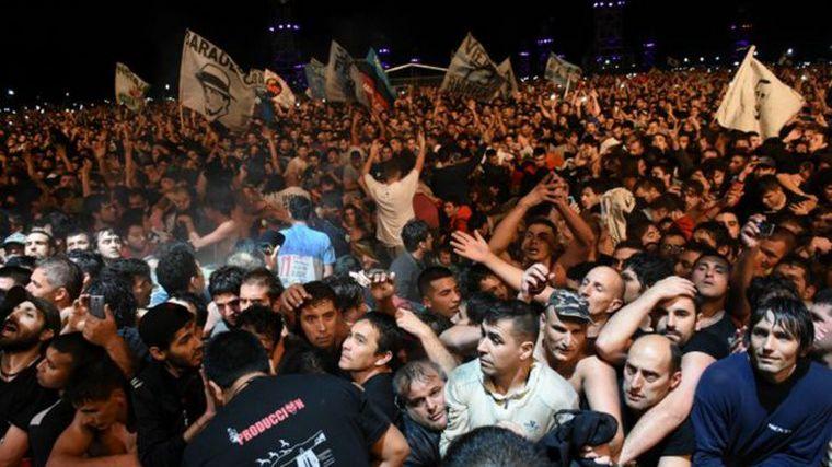 AUDIO: Los Peuscovich van a juicio por el trágico recital del Indio Solari en Olavarría